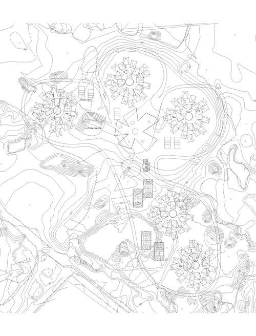 Magic Village Site Plan