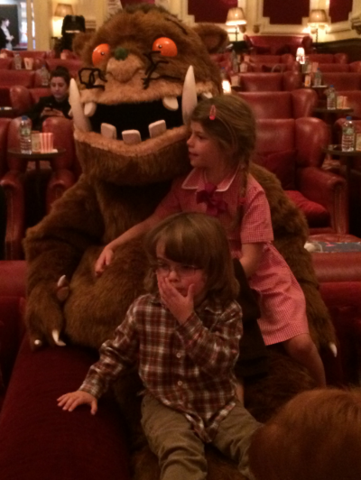 Daniel & Opehlia with The Gruffalo