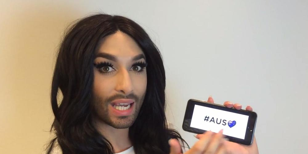 Conchita wishing she was in Daylesford Australia right now!