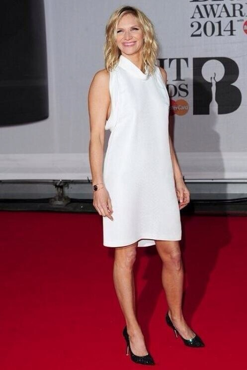 Jo Whiley at the Brits styled by London Stylist Ellie Lines