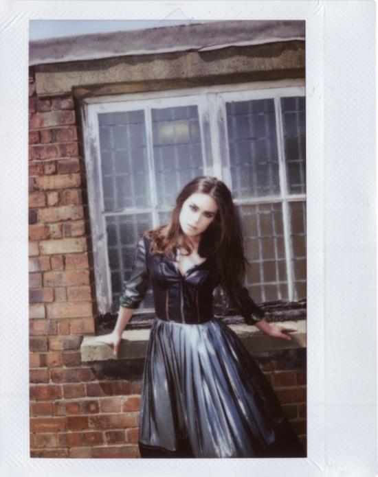 Model wearing Preen