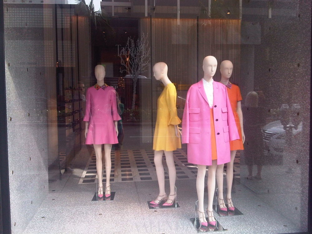 Valentino Shop Window, Rodeo Drive