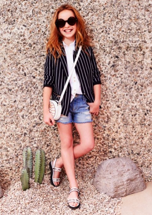 River Island Kids fashion collection styled by Ellie Lines