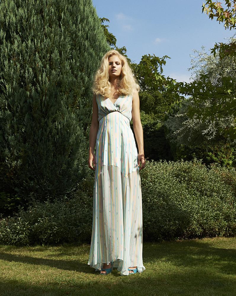 Ellie Lines Chrissie silk dress