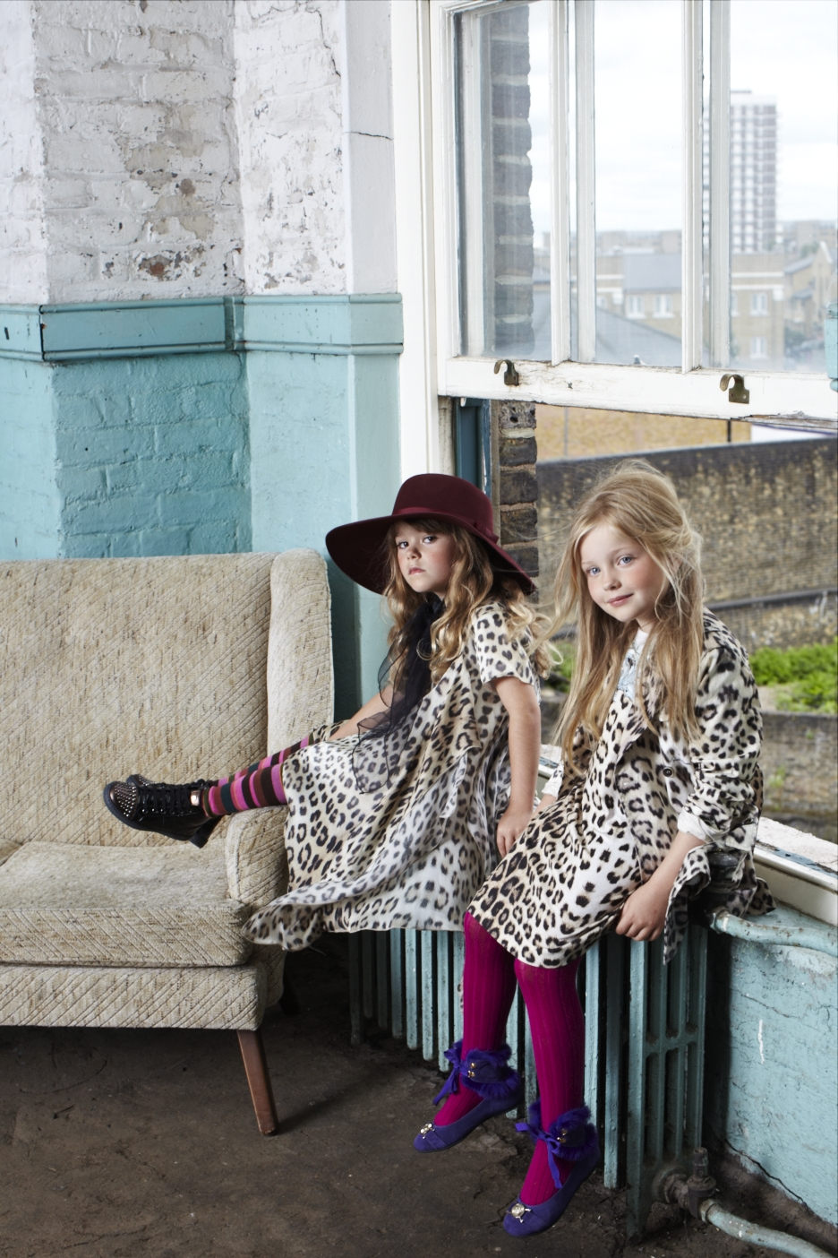 Child Fashion Shoot Styled by Ellie Lines