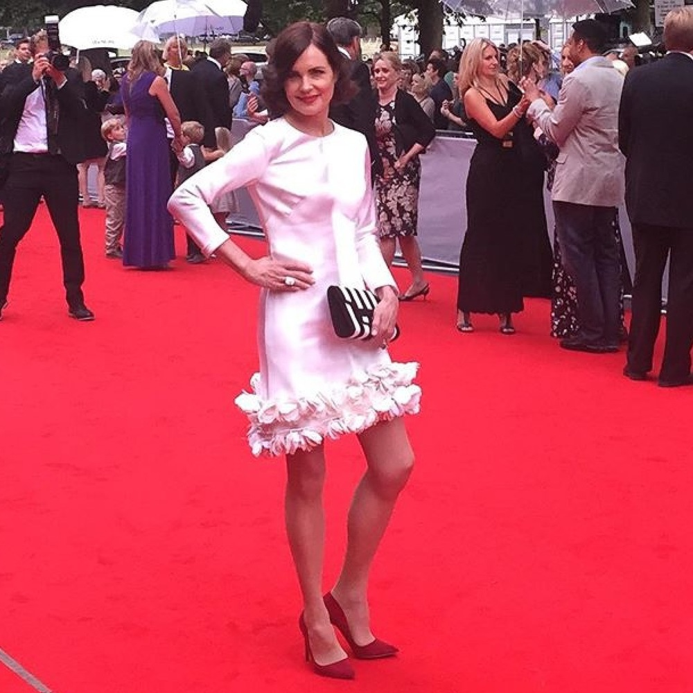 Elizabeth McGovern on the Red Carpet - Styled by Ellie Lines