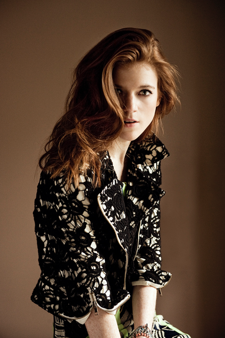 Rose Leslie Styled by The Lines
