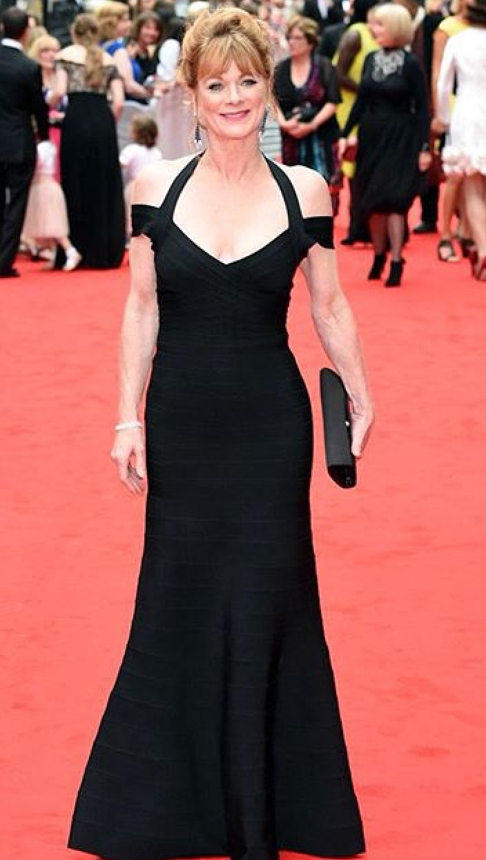 Samantha Bond Styled by The Lines
