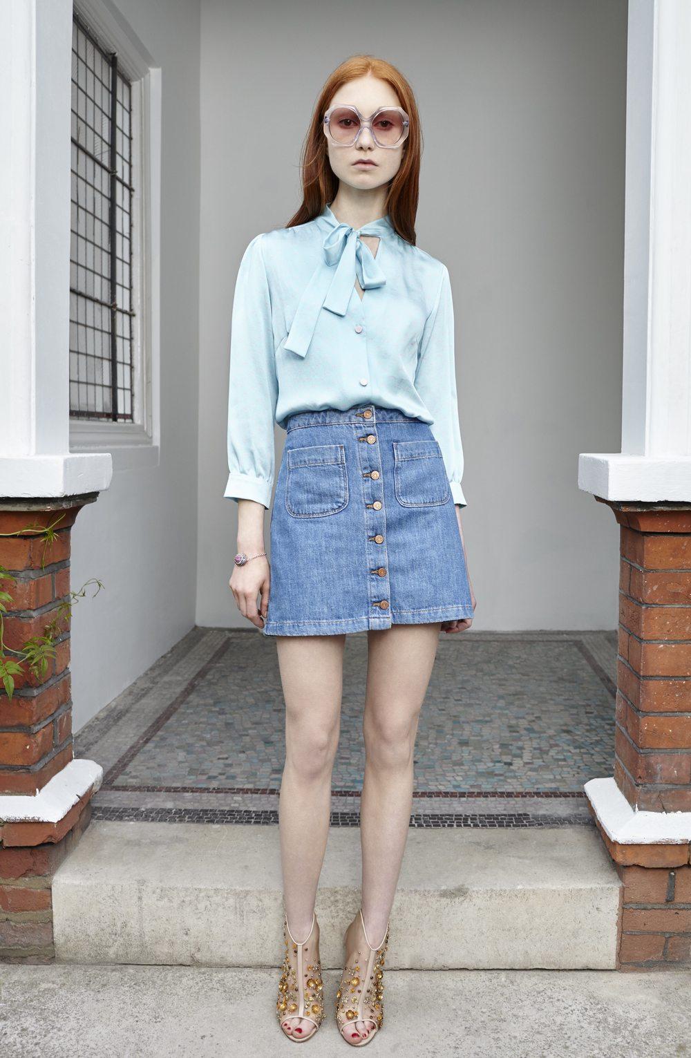 Ellie Lines Maddie silk blouse