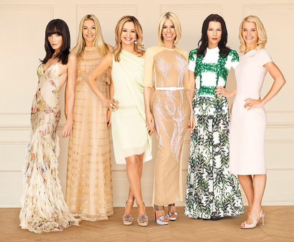 Ladies of London Styled by The Lines