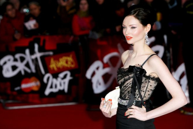 SOPHIE ELLIS BEXTOR RED CARPET GLAMOUR BY LONDON STYLIST ELLIE LINES