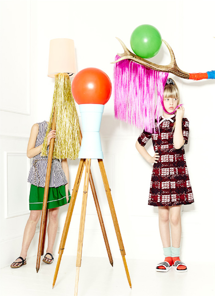 LUXURY FASHION FOR CHILDREN ELLIE LINES STYLING VOGUE ART 2
