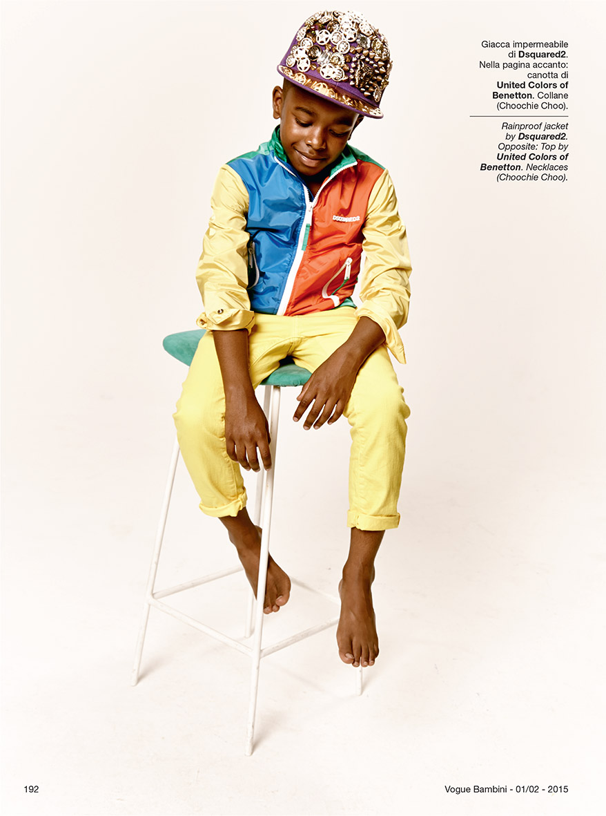 CHOOCHIE CHOO AND DSQUARED LUXURY FASHION FOR CHILDREN STYLED BY ELLIE LINES FOR VOGUE BAMBINI MAGAZINE