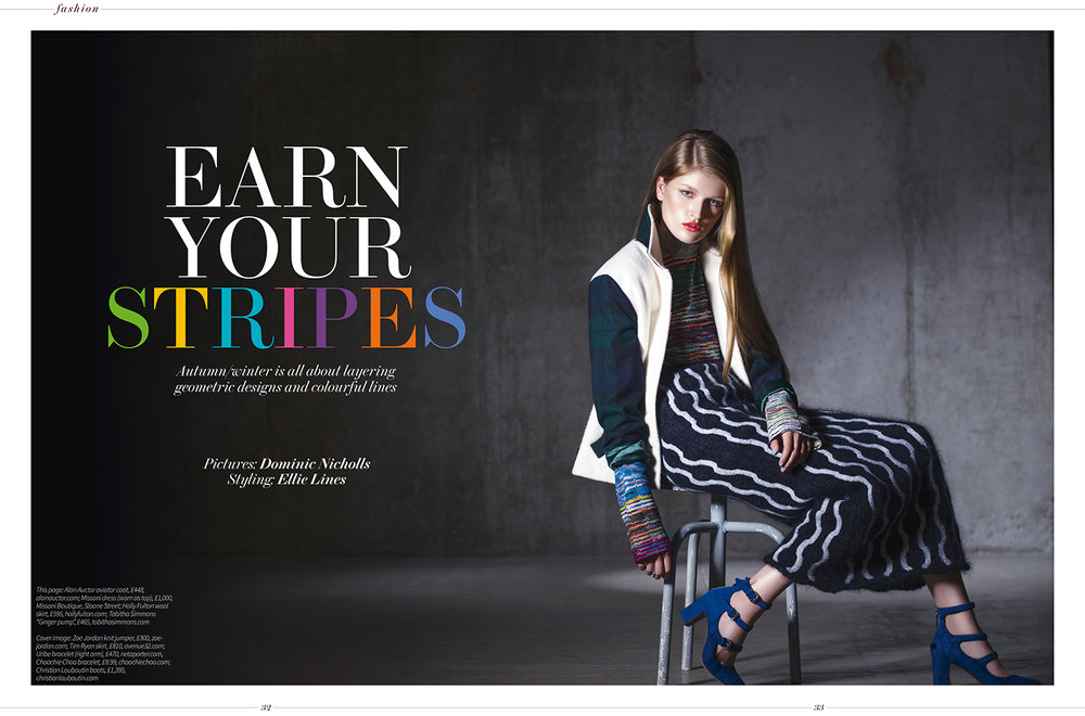 September Fashion Spread By London Fashion Stylist Ellie Lines