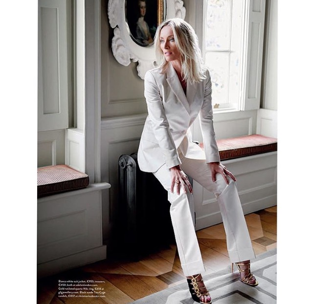 Victoria Smurfit for Image Magazine styled by London Stylist Ellie Lines