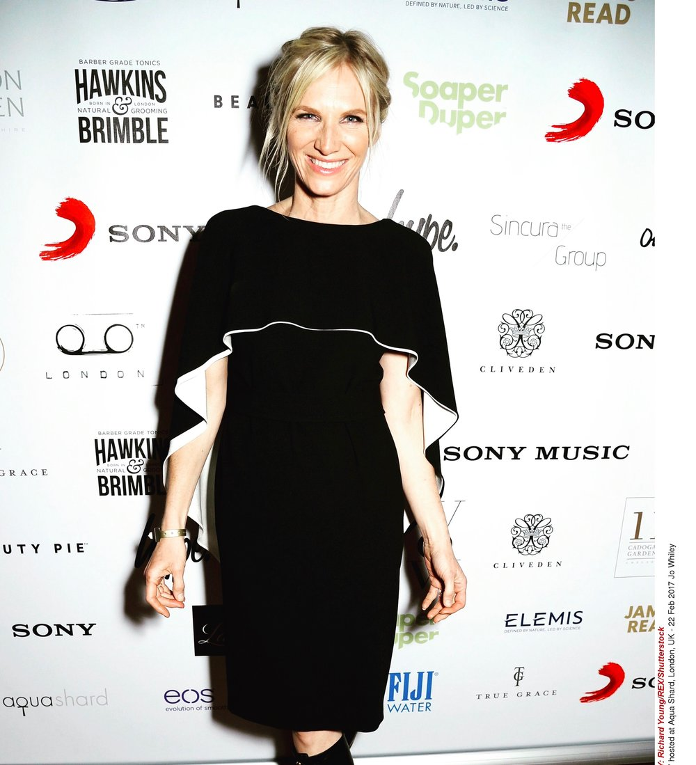 Jo Whiley styled by London Stylist Ellie Lines
