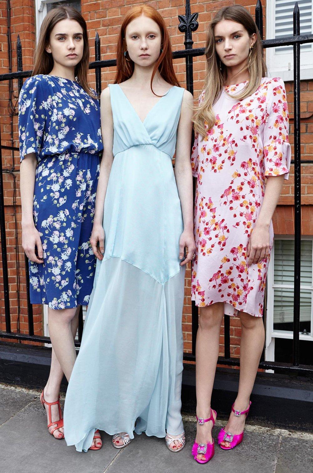 Models wearing Ellie Lines