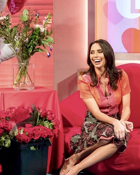 The super chic Christine Lampard, stunning in the Tess dress -