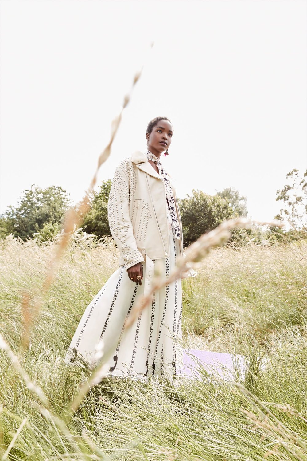 Outdoor shoot styled by Ellie Lines London