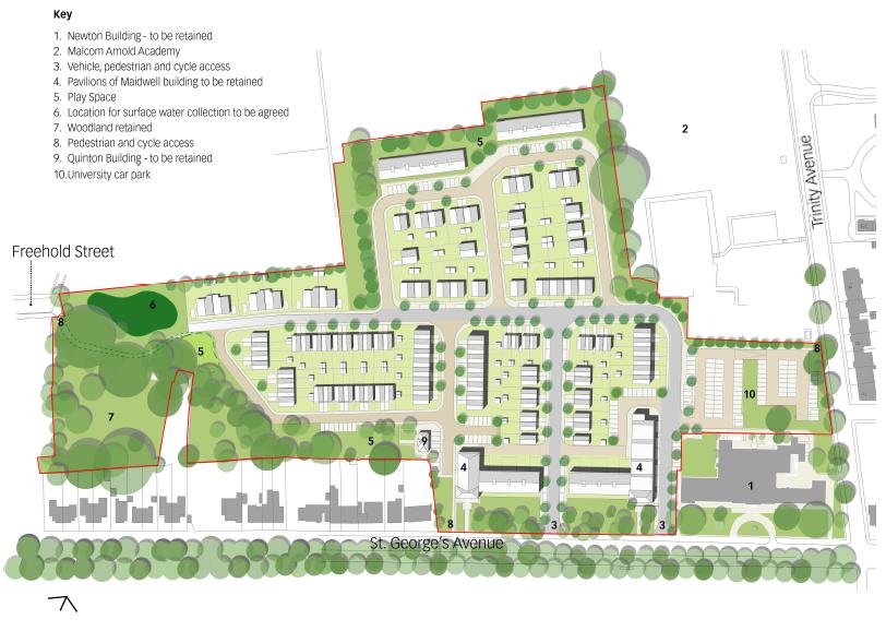 Avenue Campus - Proposed Masterplan