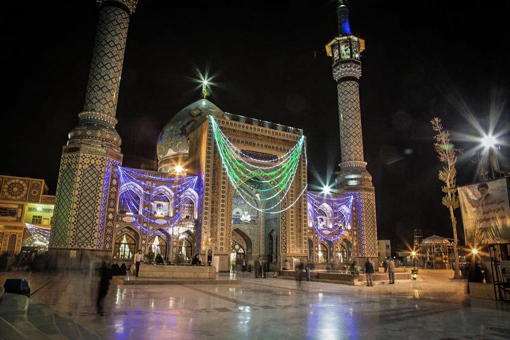 Moske i Teheran. Fotograf Johan Wahlgren