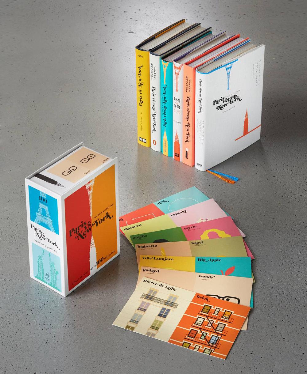 THE BOOKS - PARIS VERSUS NEW YORKTHE BOOK US VERSIONTHE CARDS COLLECTIONPUBLISHED BY PENGUIN RANDOM HOUSELE LIVRE ORIGINAL EN FRANÇAISPUBLIÉ PAR 10|18L'INTÉGRALE EN FRANÇAISPUBLIÉ PAR 10|18OTHER VERSIONSJAPAN | S.KOREA |BRAZIL | GERMANY | ITALY