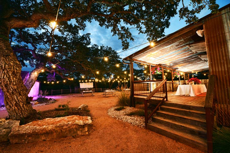 rustic hill country wedding venue sisterdale dancehall