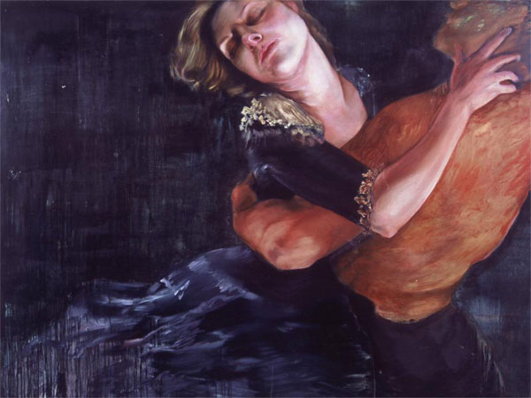 "untitled. oil on panel. 72 x 96"". 2003"