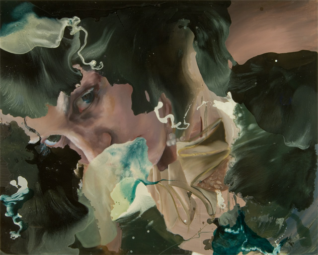"she could not remember.    oil and galkyd resin on panel. 48 x 60"". 2007"