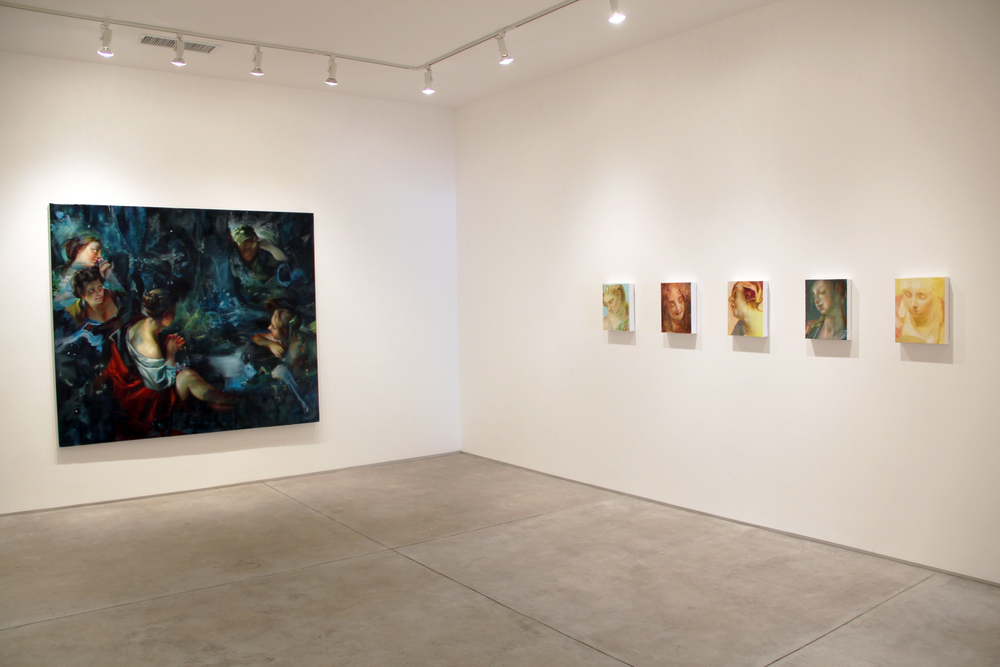 Installation shot of Ghosts in the Sunlight , Inman Gallery, Houston, TX