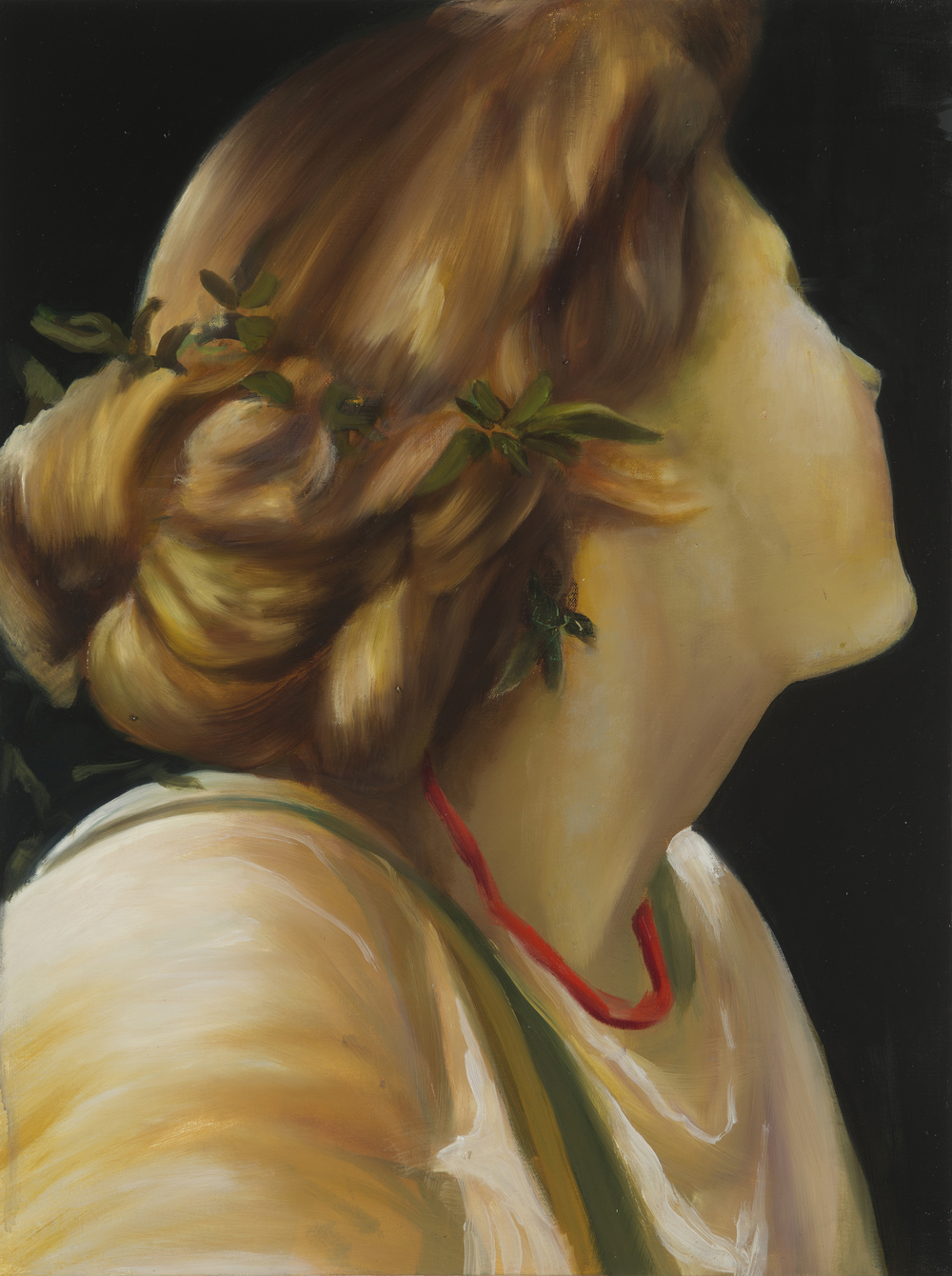 A song of seasons. Oil on canvas over panel. 24 x 18 in. 2015