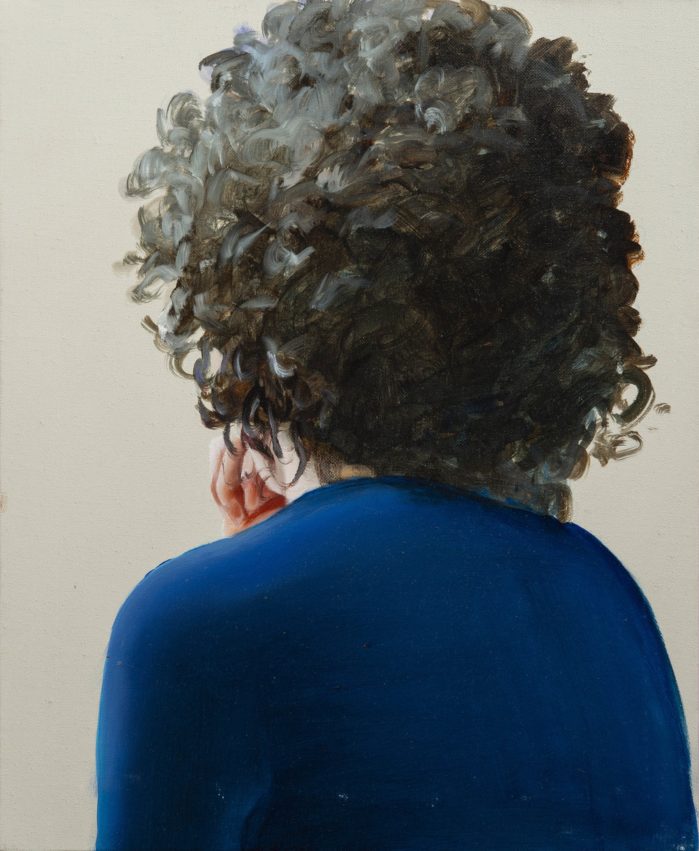 "The sweetness of your gaze   20"" x 16"". oil on linen. 2018"