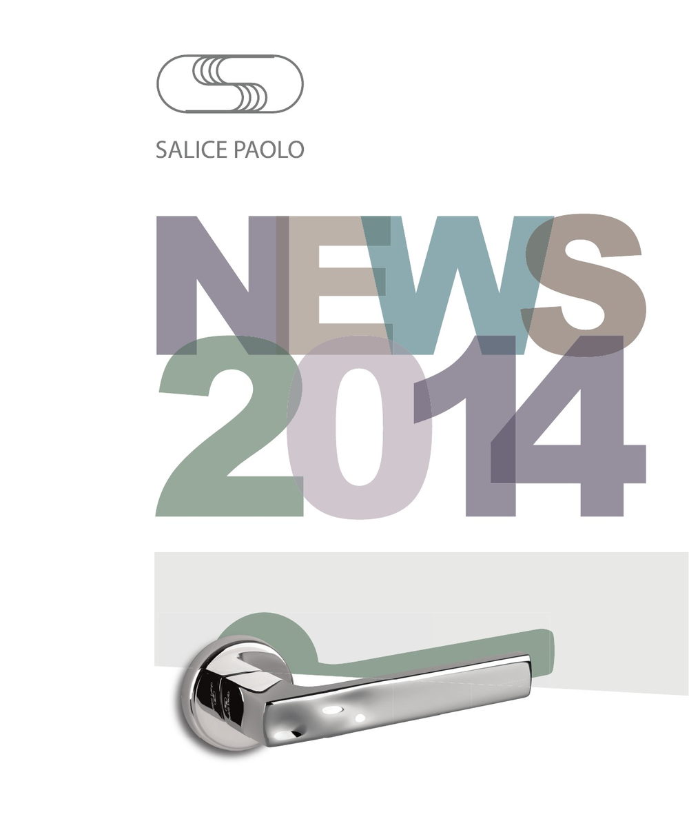 Salice paolo news 2014 catalogues international prodimex for Salice paolo