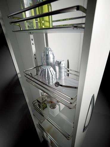 Emejing Cestelli Scorrevoli Per Mobili Da Cucina Ideas - Ideas ...