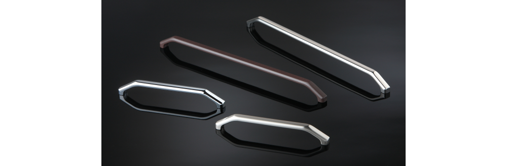 8 1137,the new modern handle, is available in different versions.