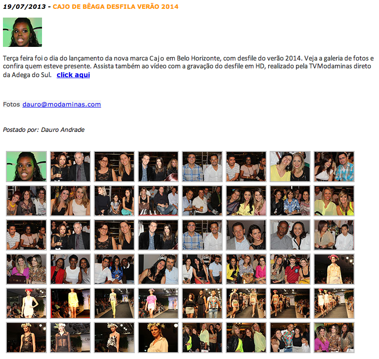 Site Moda Minas