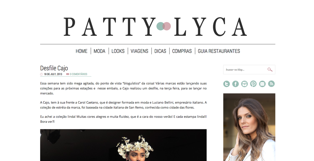 Blog Patty Lyca