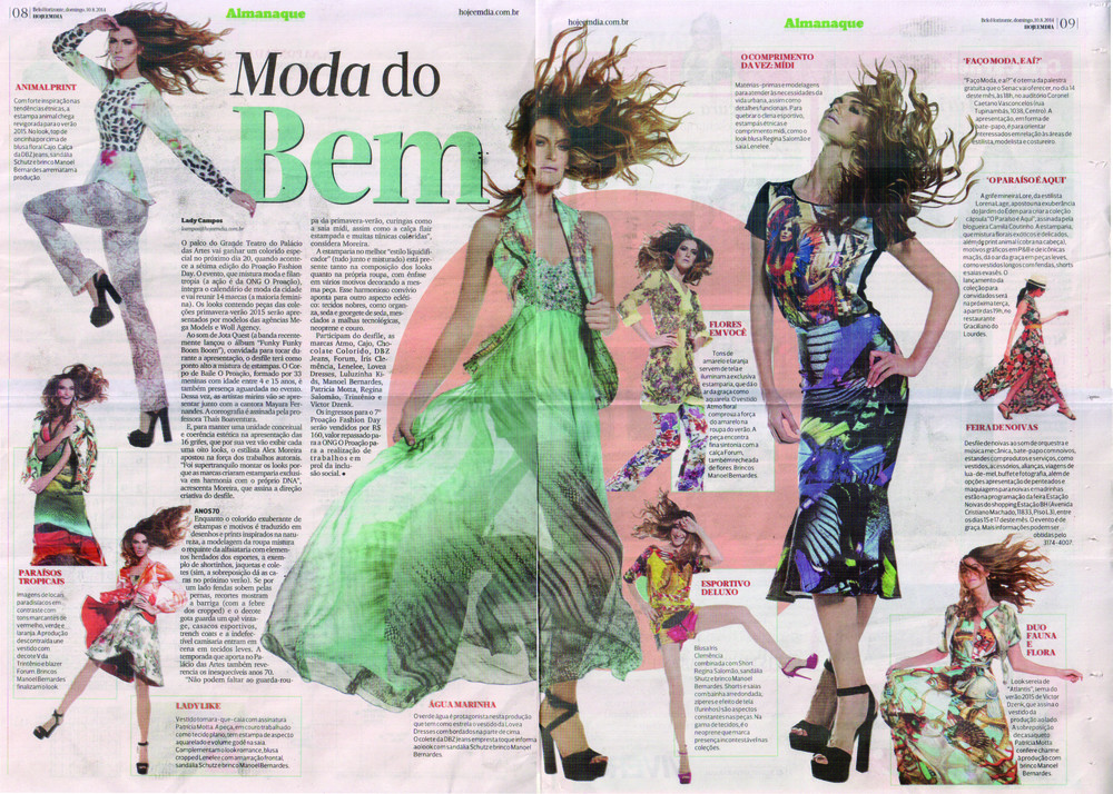 Editorial O Proação Fashion Day