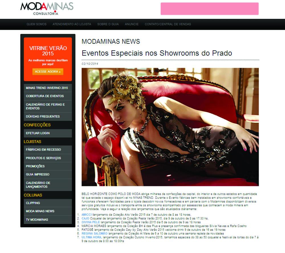 Eventos especiais nos showrooms do Prado