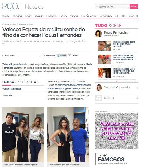 Paula Fernandes usa CAJO em encontro