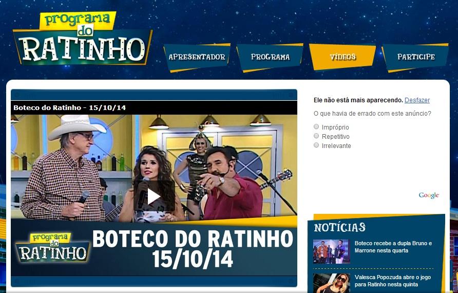 Paula Fernandes veste CAJO no Programa do Ratinho