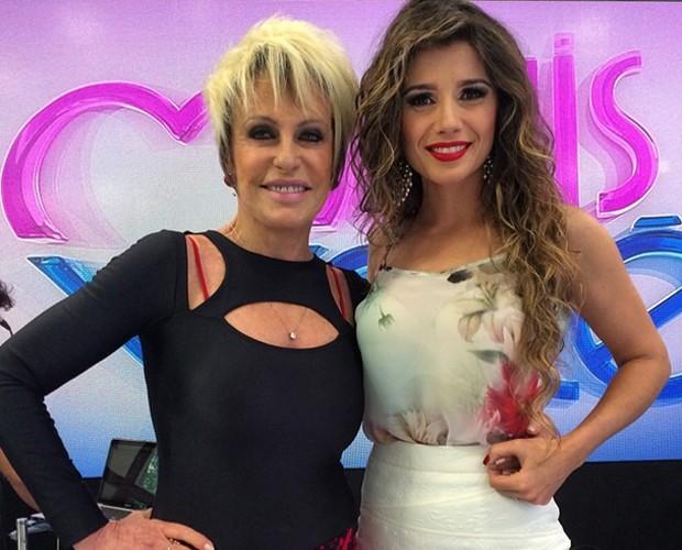 Paula Fernandes usa CAJO no Mais Você