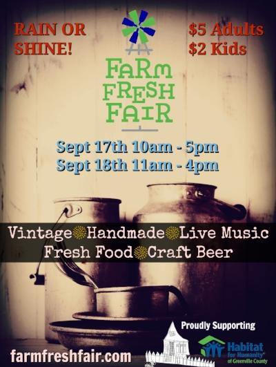 Farm Fresh Fair Save the Date