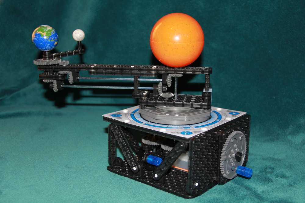 The VEX Robotics Orbit Model fully assembled.