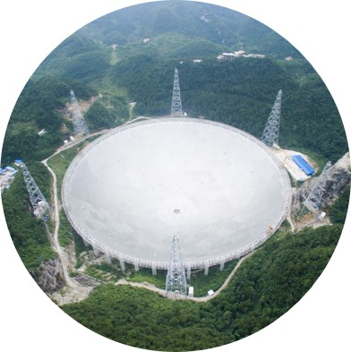 China Invests in the Hunt for Aliens by Building the World's Largest Radio Telescope