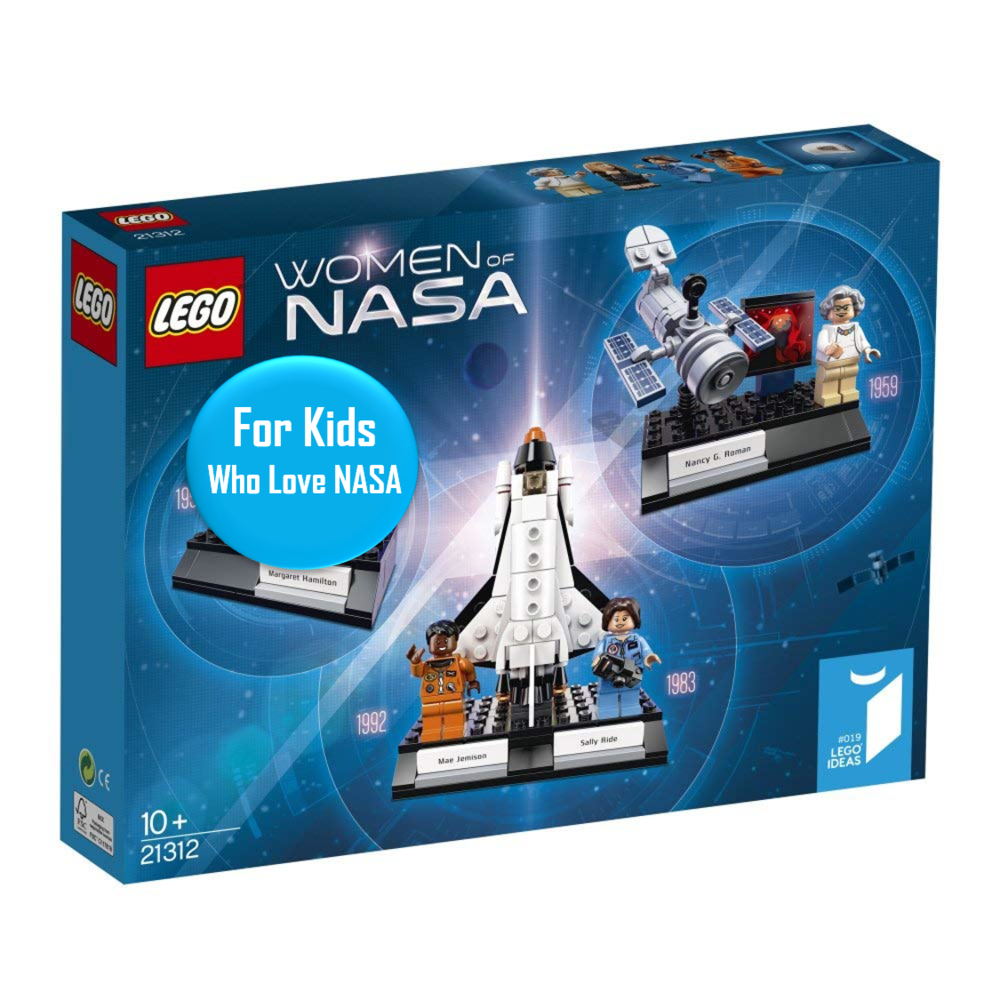 Women of NASA Lego Set - Ages 10+   This is a great gift for the person in your life who loves NASA. I have this. I love it :)