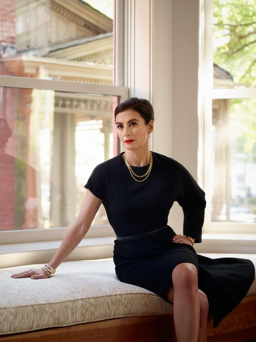 Francesca Amfitheatrof from Vogue UK, 2014          Martyn Thompson