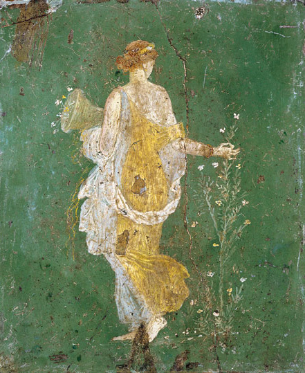 """  Say Yes to Springtime  ""                       Flora Goddess of Spring"