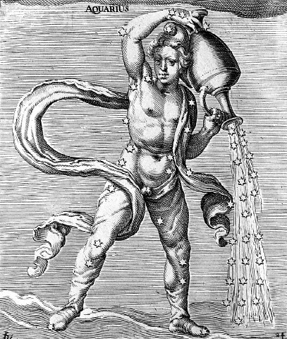 """Aquarius""  - Jacob de Gheyn"