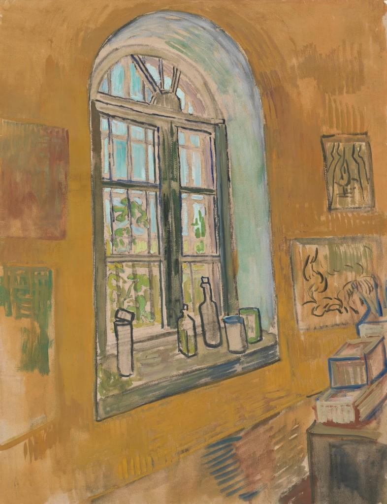 Window in the Studio.Saint-Rémy-de-Provence, September - October 1889 Vincent van Gogh (1853 - 1890).